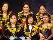 Exposition sur les PME de femmes de l'ASEAN