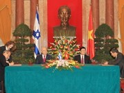 Vietnam-Israël: signature de documents de coopération