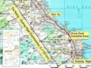 Projet d'autoroute Da Nang - Quang Ngai