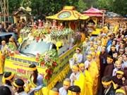 Cérémonie funèbre du bonze supérieur Thich Thanh Tu