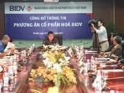 Actionnarisation de la BIDV commence fin décembre