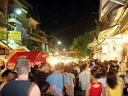 Nouveaux espaces piétons à Hanoi en janvier 2012