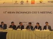 Bourse : une réunion de l'ASEAN à Hanoi