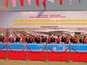 Mise en chantier de l'aérogare T2 de l'aéroport de Noi Bai