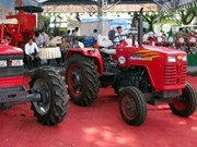 Ouverture de la Foire internationale de l'agriculture du Vietnam 2011 à Can Tho