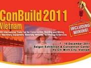 HMC-V: ouverture de l'exposition Conbuild Vietnam 2011