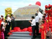 Inauguration de la 1ère phase du projet hydraulique de Phuoc Hoa