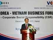 Forum d'entreprises Vietnam-R. de Corée à Hanoi