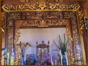 Thai Binh: aide américaine pour la préservation d'anciens objets en bois