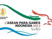 Ouverture des 6es Jeux sportifs d'Asie du Sud-Est pour handicapés