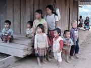Résultats d'une enquête sur les enfants et les femmes