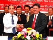 Hévéa : aide vietnamienne pour le Laos