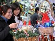 Joyeuse fête de Noël dans tout le pays