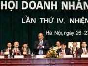 Clôture du congrès national des jeunes hommes d'affaires