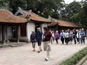 Près de 1,9 million de touristes étrangers reçus à Hanoi