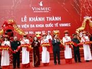 Inauguration de la polyclinique internationale VINMEC