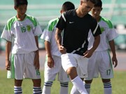Echange avec le célèbre footballeur Cannavaro à HCM-Ville