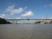 Ouverture au trafic du pont de Hiep reliant Thai Binh et Hai Duong