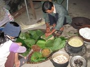 Thanh Khuc, village de confection du Banh chung
