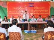 Cambodge : construction d'une école pour des enfants de Viet Kieu