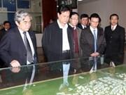 Le PM rend visite au technopôle de Hoa Lac