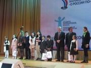 Langue : le Vietnam primé à un concours de russe