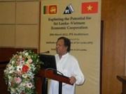Potentiels de coopération économique Vietnam-Sri Lanka