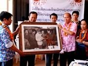 Rencontre entre les deux agences de presse vietnamienne et laotienne