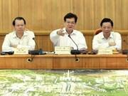 Le PM étudie le plan global d'aménagement de Hanoi