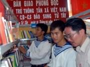 L'AVI offre des livres au district insulaire de Truong Sa