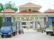 Aménagement de la ZE frontalière de Thanh Thuy