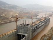 Centrale de Lai Chau : barrage de la rivière Da