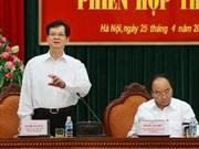Lutte contre la corruption, tâche clé de tout le système politique
