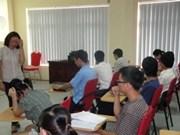 Enseignement du coréen aux employés du tourisme