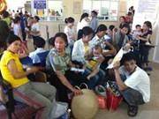 Canicule : nombre croissant d'enfants malades