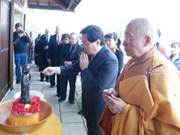 Célébration de l'anniversaire de la naissance de Bouddha en France
