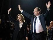 Le socialiste François Hollande élu président français