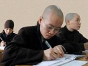 Séminaire sur l'éducation bouddhique au Vietnam