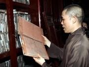 L'UNESCO sacre les tablettes de bois du VN