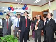 Un bureau des Vietnamiens en R. de Corée