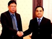 Coopération intensifiée Vietnam-Laos dans le domaine scientifico-technologique