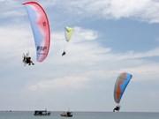 La France gagne la compétition internationale de paramoteur de Da Nang