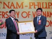L'Ordre de l'amitié décerné à un Philippin