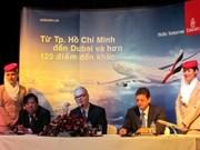 Emirates Airlines inaugure une ligne directe entre HCM-Ville et Dubaï