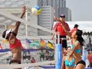 Congrès des sports de plage d'Asie : cérémonie de départ des sportifs vietnamiens
