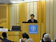 Le Vietnam à la 144e réunion du Conseil de la FAO