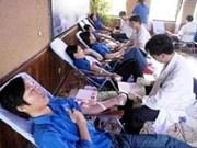 Don de sang : progrès remarquables du VN