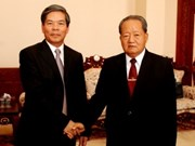 Coopération Vietnam-Laos dans l'environnement