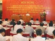 Plan et Investissement: le PM à une conférence nationale