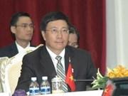 Le ministres des AE Pham Binh Minh à l'AMM 45